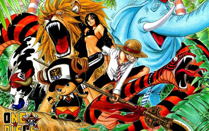 one piece Wallpapers A16 Nami, Tony Tony Chopper, Nico Robin, Roronoa Zoro, Monkey D. Luffy, Sanji manga anime desktop, laptops wallpapers free downloads.