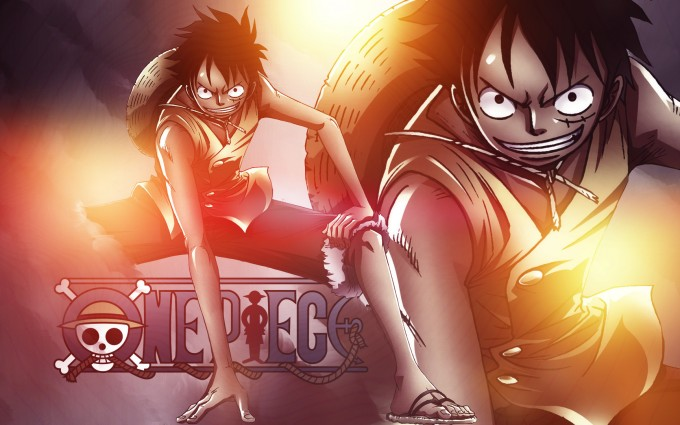 One Piece Luffy Wallpapers Downloads A20 - Free cool beautiful 3d manga anime desktop mobile phone Backgrounds wallpapers downloads