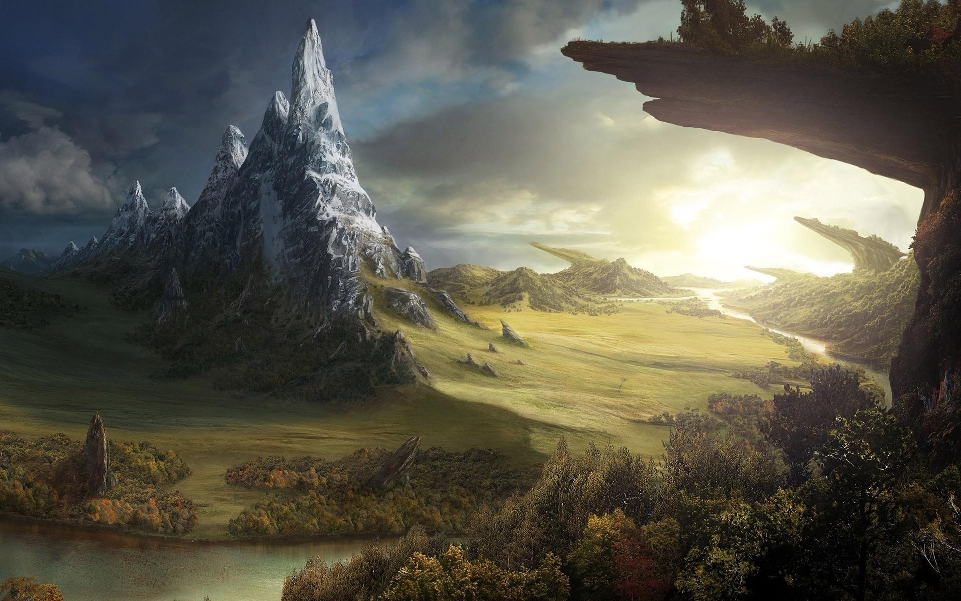 Anime Landscape Wallpaper