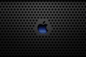 Apple Logo Wallpapers HD black blue