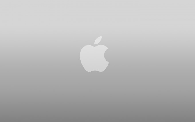 Apple Logo Wallpapers HD gray 3