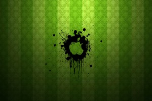 Apple Logo Wallpapers HD green punk