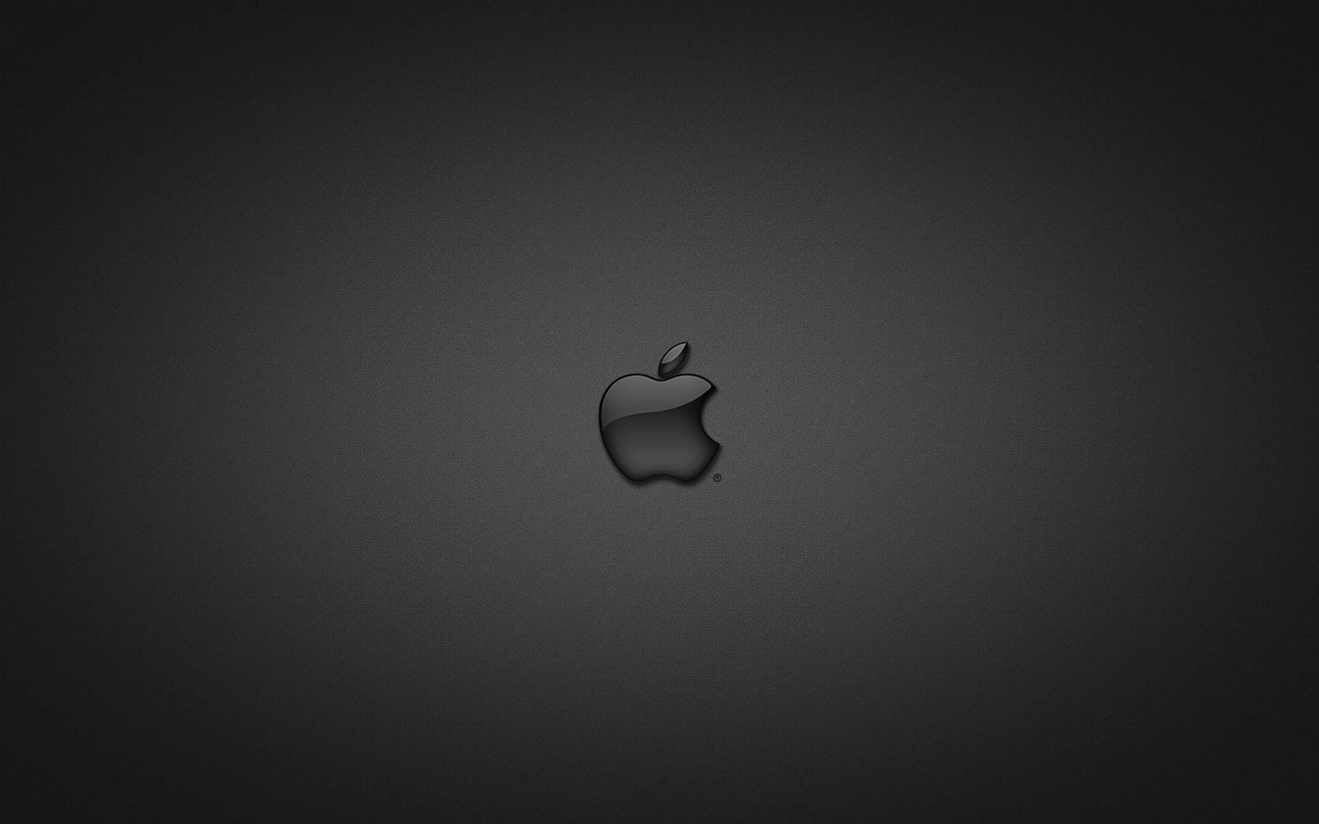Apple Logo Wallpapers HD black