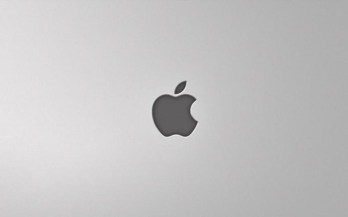 Apple Logo Wallpapers HD grey 2