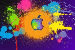 Apple Logo Wallpapers HD colorful 2
