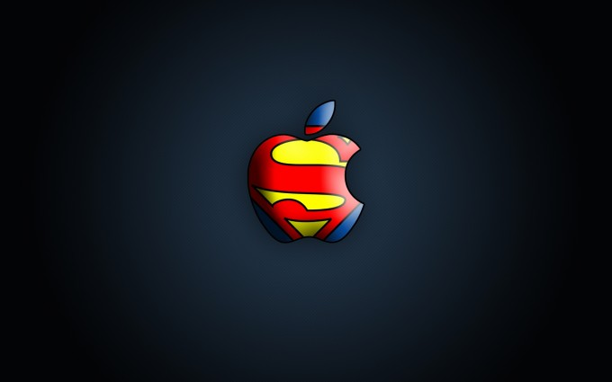 Apple Logo Wallpapers HD superman