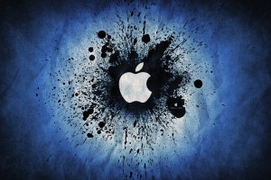 Apple Logo Wallpapers HD dark blue purple