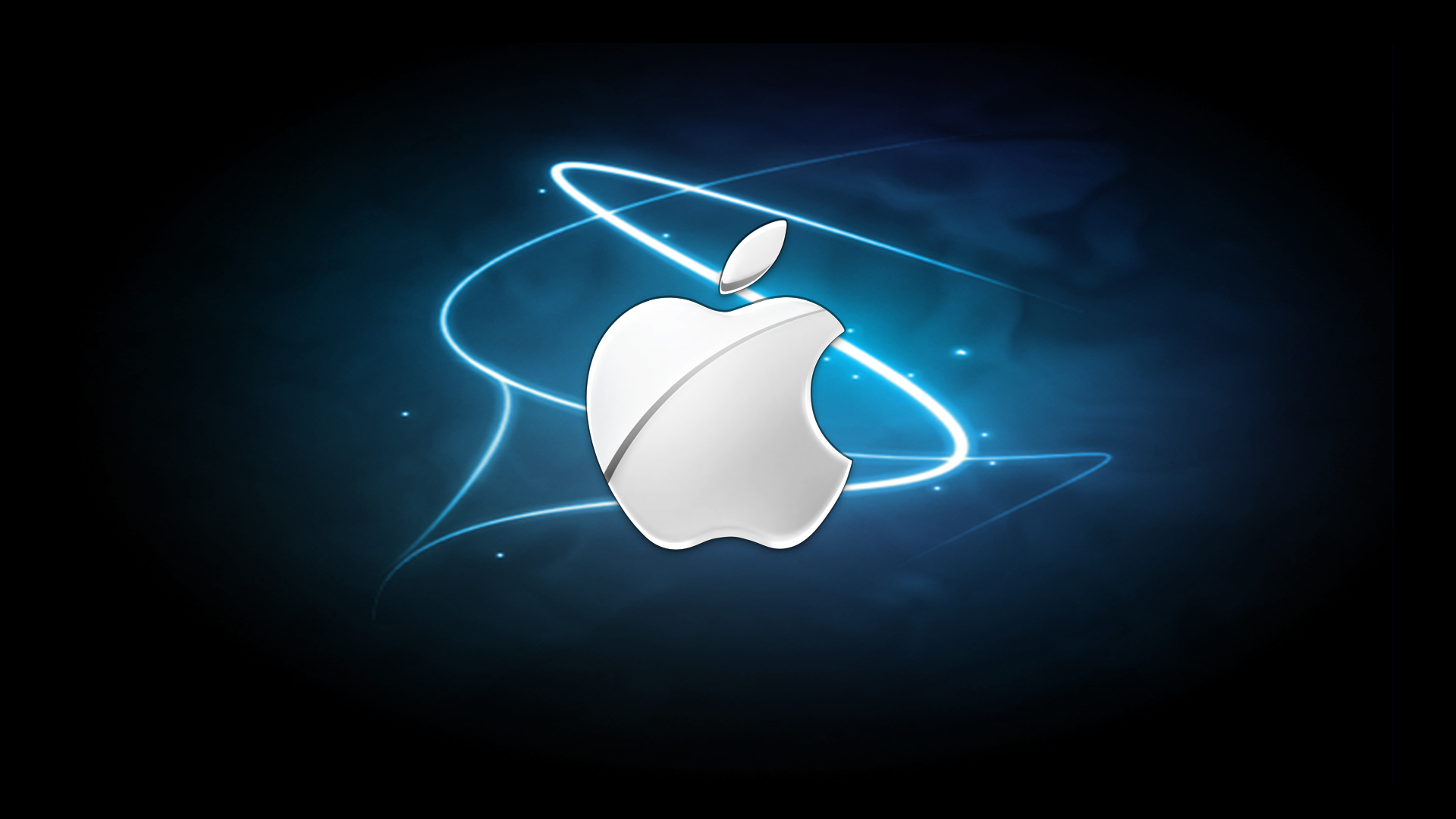 Apple Logo Wallpapers HD blaze