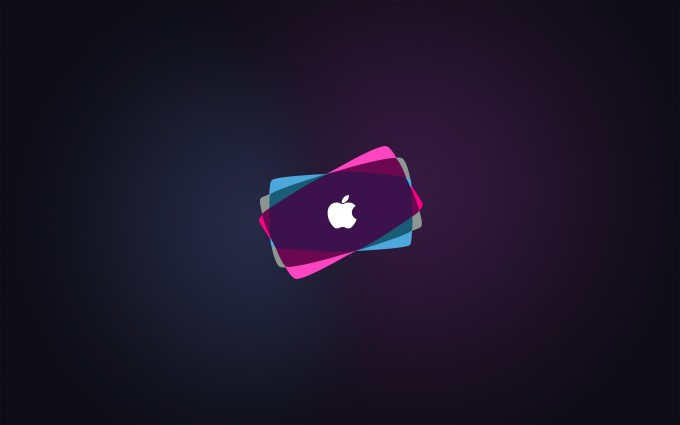 Apple Logo Wallpapers HD pink purple blue