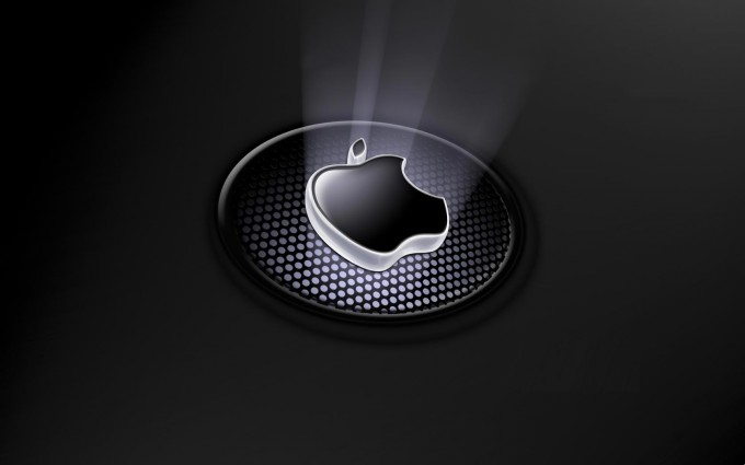 Apple Logo Wallpapers HD black spotted