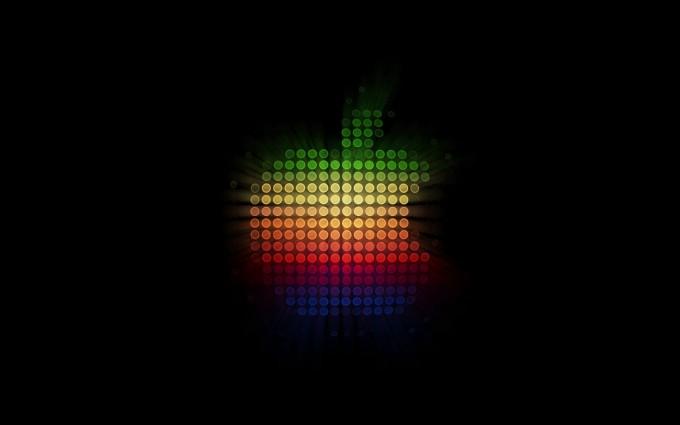 Apple Logo Wallpapers HD rainbow