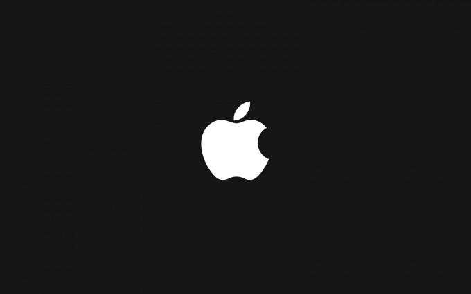 Apple Logo Wallpapers HD black background