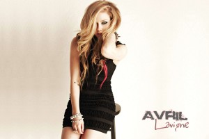 Avril Lavigne Wallpapers black dress
