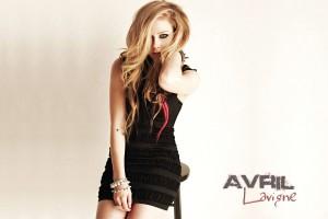 Avril Lavigne Wallpapers black dress