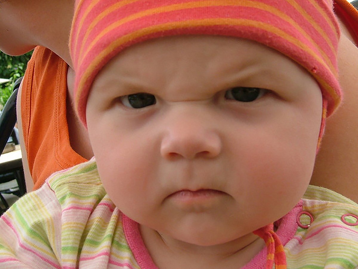 Baby Wallpapers angry