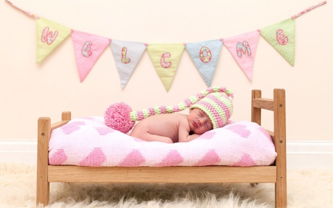 Baby Wallpapers bed