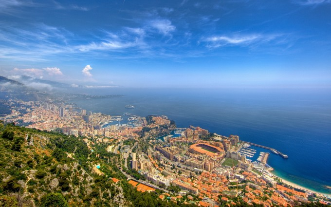 Beach Wallpapers Monaco