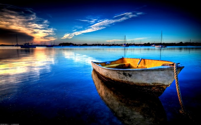 Beach Wallpapers boat