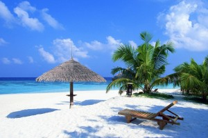Beach Wallpapers tropical chairs