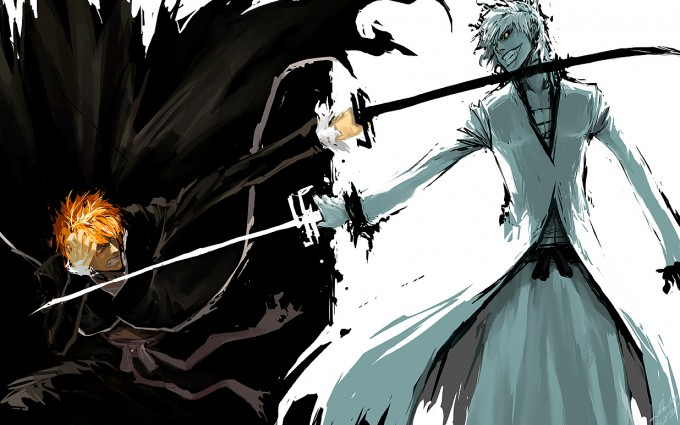 Bleach Wallpapers black and white