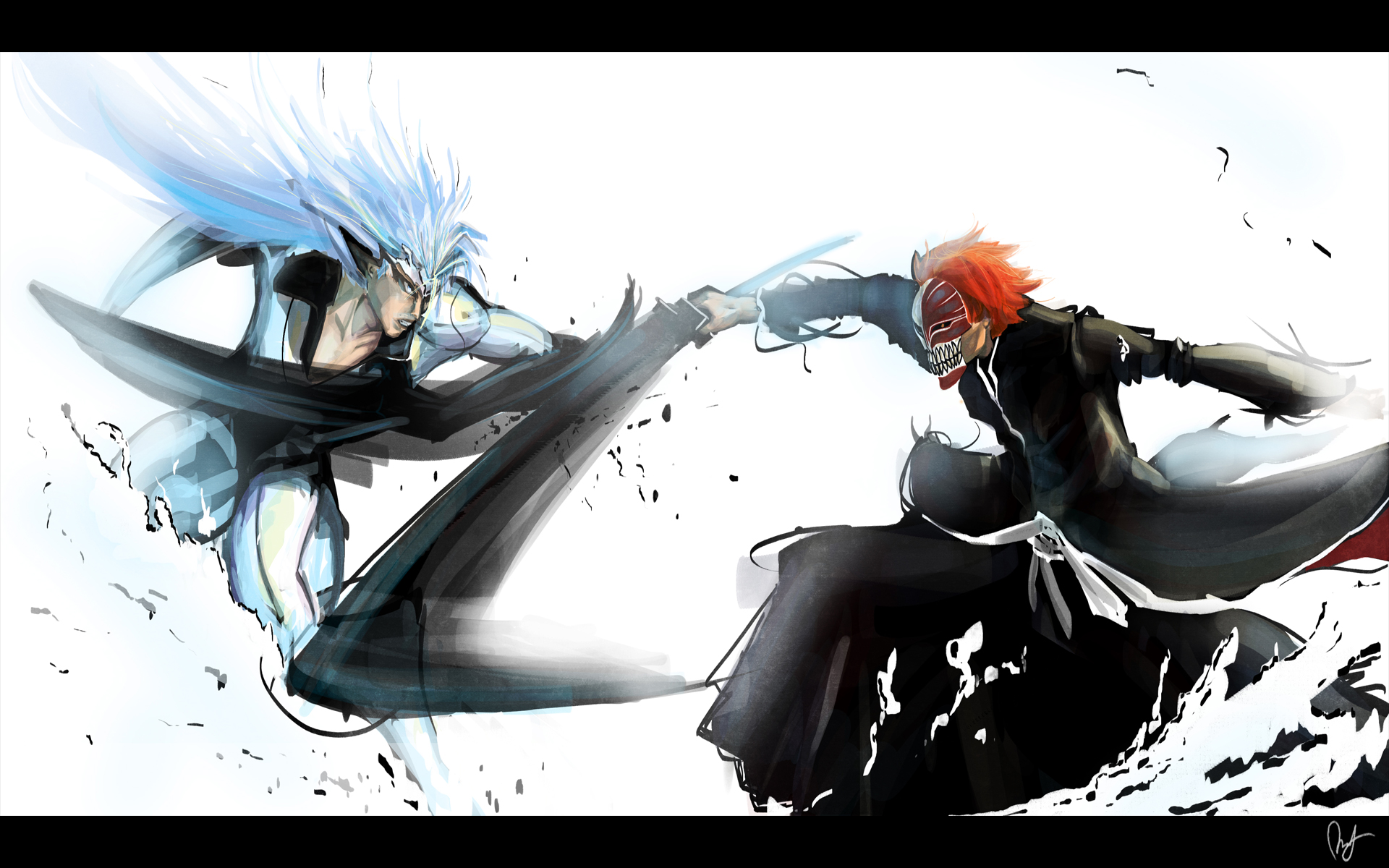 Bleach Wallpapers fight
