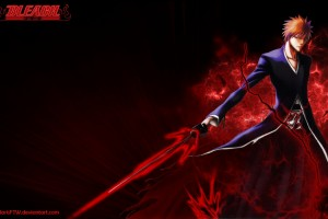 Bleach Wallpapers red sword