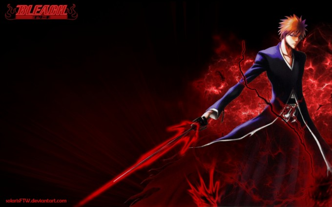 Bleach Wallpapers red sword