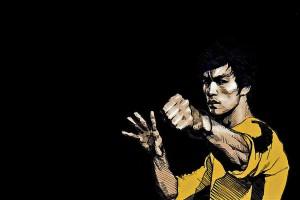 Bruce Lee Wallpapers HD yellow shirt