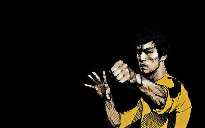 Bruce Lee Wallpapers HD yellow shirt