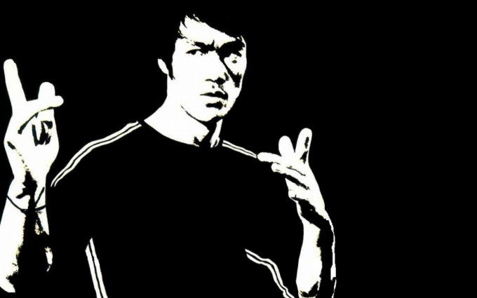 Bruce Lee Wallpapers HD black and white