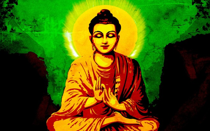 Buddha Wallpaper pictures HD green background
