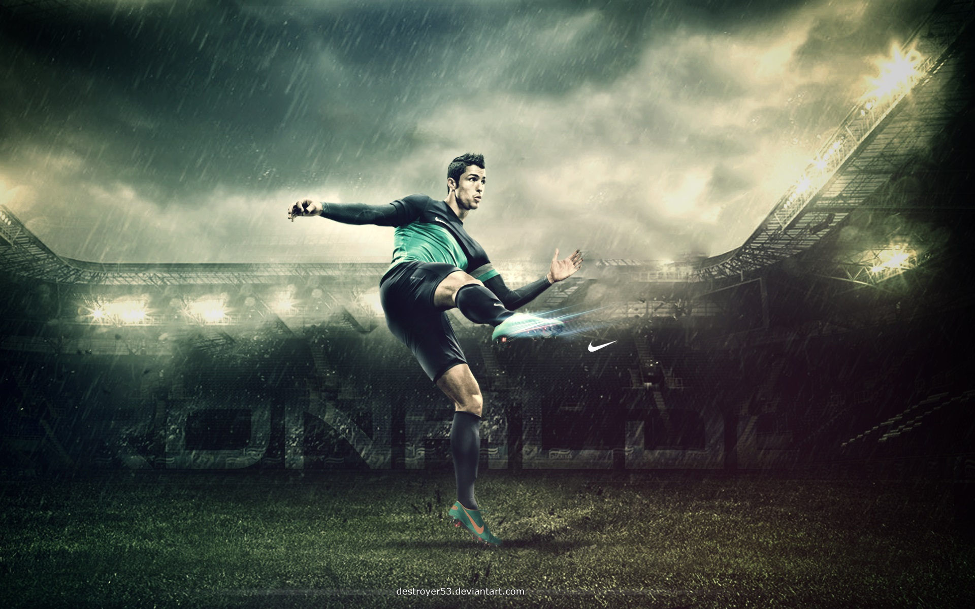 Cristiano Ronaldo Wallpapers HD soccer kick