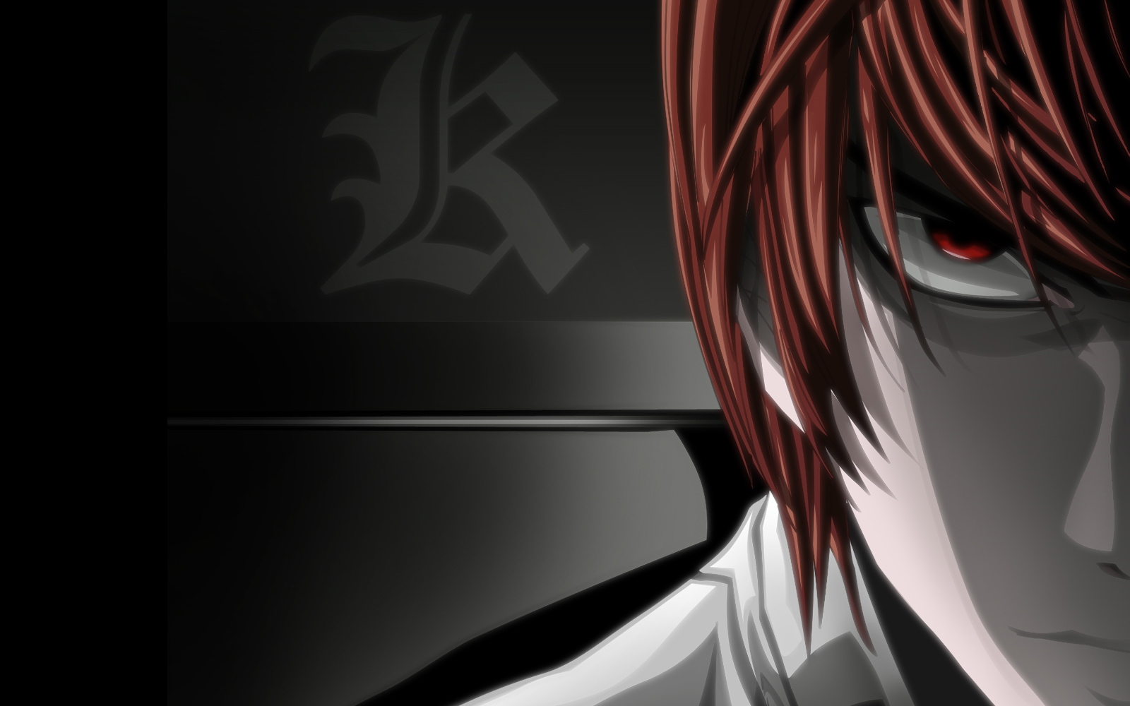 Death Note Wallpapers kira eyes
