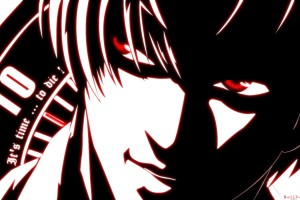Death Note Wallpapers kira red