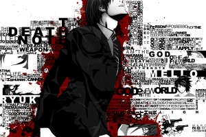 Death Note Wallpapers kira white background