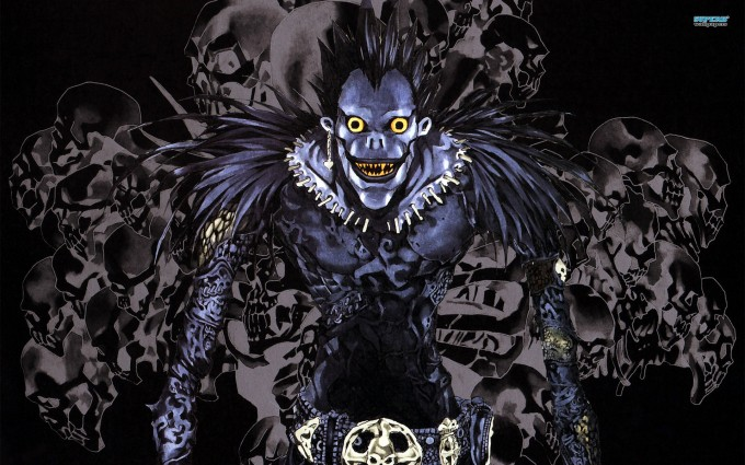 Death Note Wallpapers ryuk purple