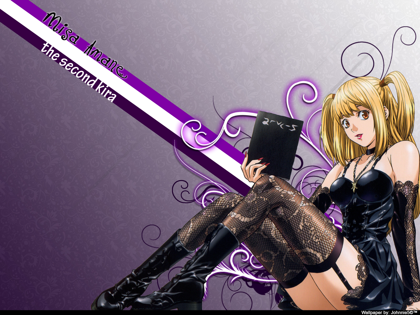 Death Note Wallpapers misa amane