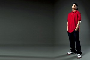 Eminem Wallpapers HD red t shirt black pants