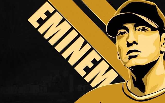 Eminem Wallpapers HD yellow cartoon