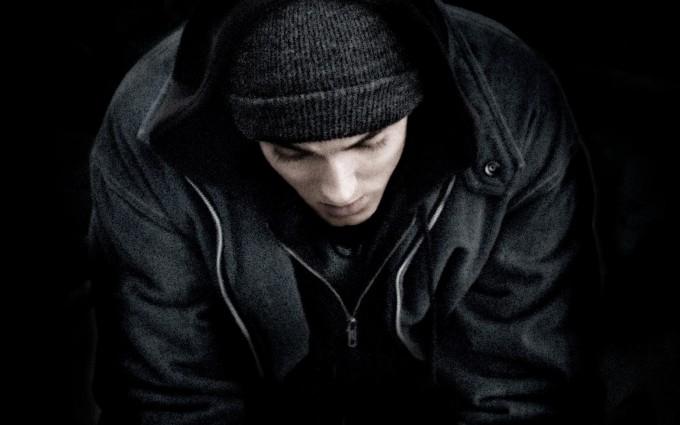 Eminem Wallpapers HD black hoodie