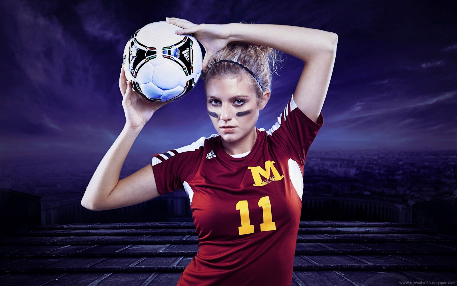 Sports Girls Wallpaper: Football Wallpapers Women - HD Desktop Wallpapers