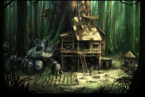 Forest Wallpapers HD hut