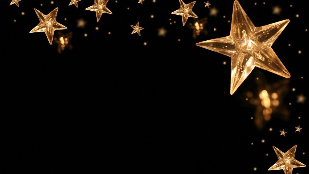 Gold Wallpapers Black Stars