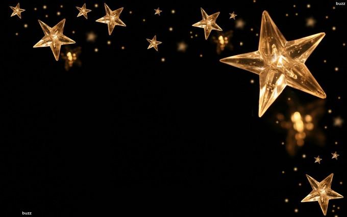 Gold Wallpapers black stars