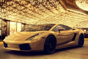 Gold Wallpapers car