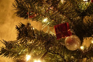 Gold Wallpapers christmas tree