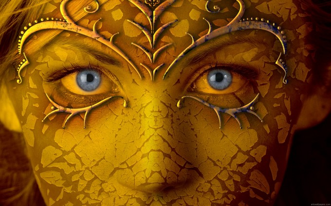 Gold Wallpapers eyes