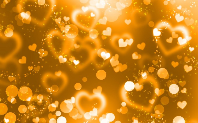 Gold Wallpapers hearts
