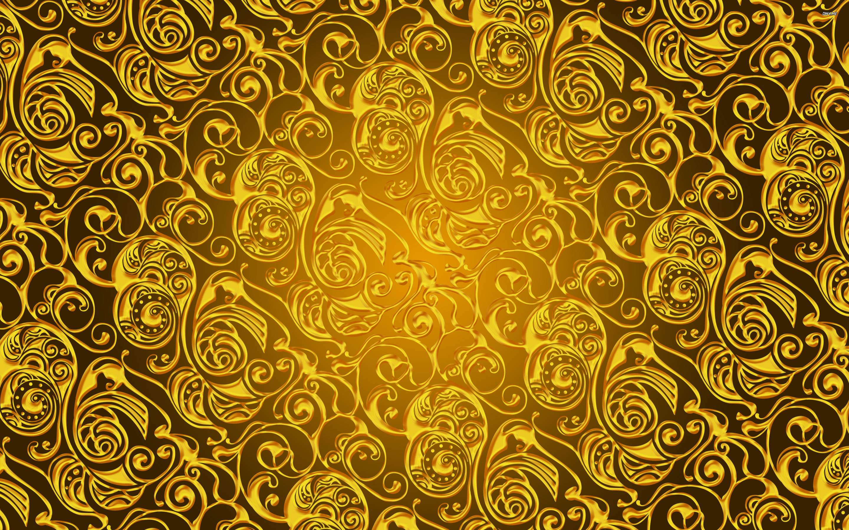 Gold wallpapers pattern hd desktop wallpapers 4k hd for Wallpaper pattern
