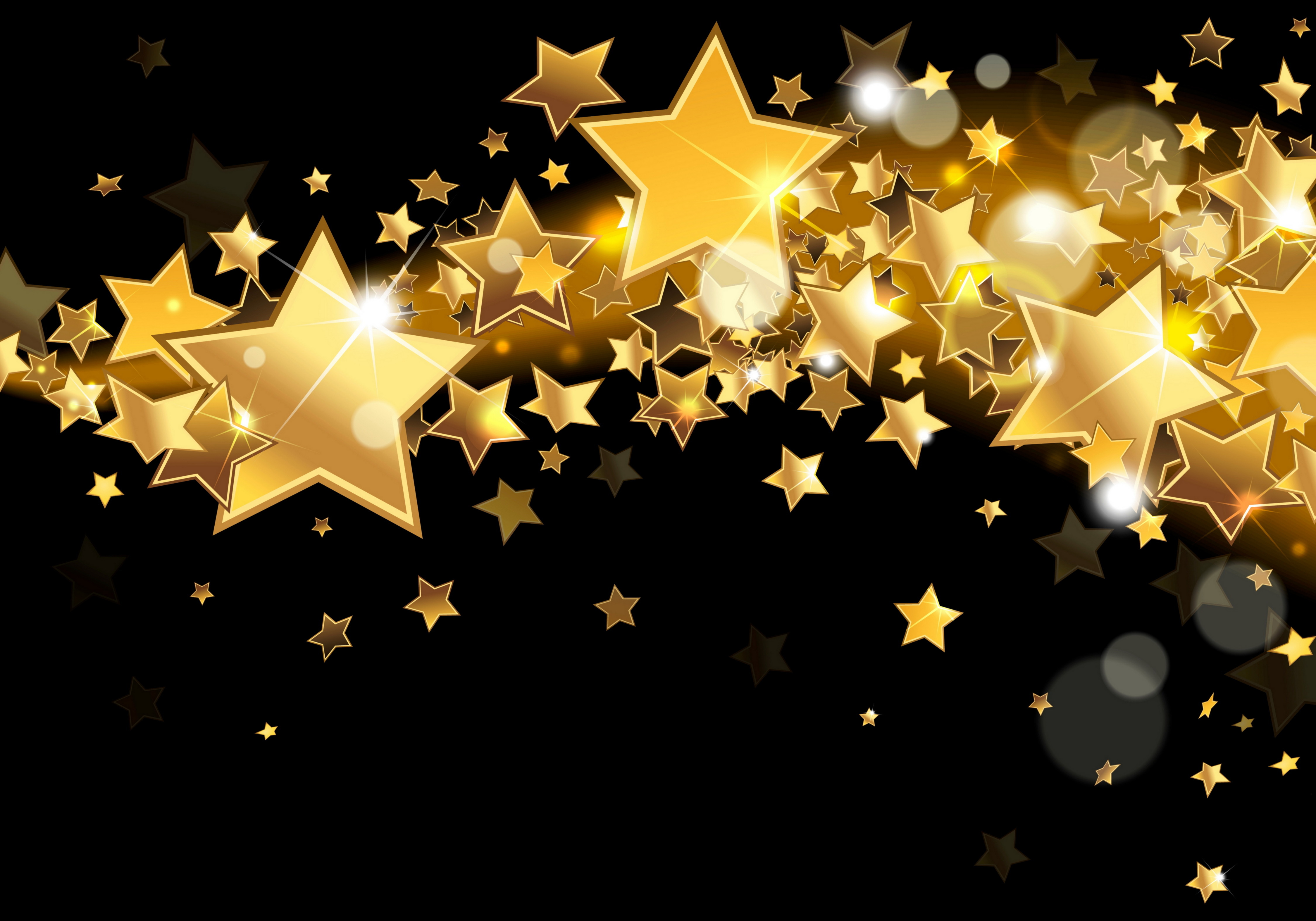 Gold Wallpapers sparkle star